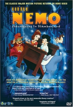 Little Nemo - Adventures in Slumberland, Little Nemo: Adventures in Slumberland, Маленький Немо, аниме, anime, анимэ