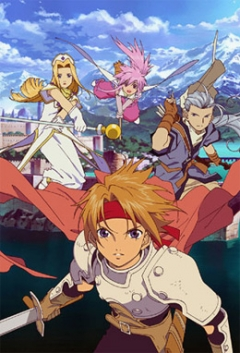 Tales of Phantasia The Animation, Tales of Phantasia - The Animation, Сказания Фантазии, аниме, anime, анимэ