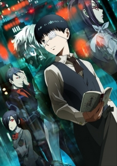 Tokyo Ghoul, Tokyo Ghoul, Токийский гуль, аниме, anime, анимэ