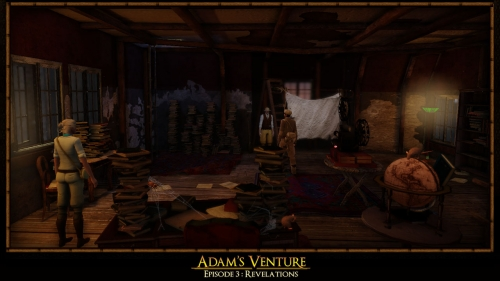 Игра - Game - Adams Venture Episode III: Revelations - Adams Venture Episode 3: Revelations