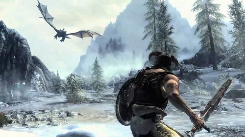 Игра - Game - The Elder Scrolls V: Skyrim -