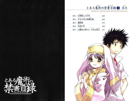 Манга - Manga - A Certain Magical Index - To Aru Majutsu no Index (манга) [2007]