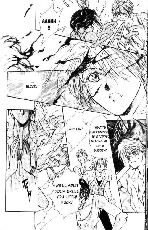 Манга - Manga - Гетто Ангелов - Tenshi Kinryouku (манга) [1995]