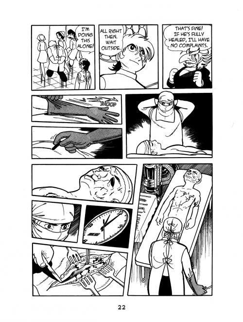 Манга - Manga - ブラック・ジャック - Black Jack (манга) [1973]