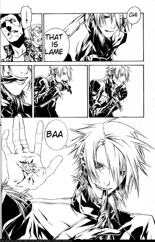 Манга - Manga - Dogs: Bullets & Carnage - Dogs: Bullets and Carnage (манга) [2006]