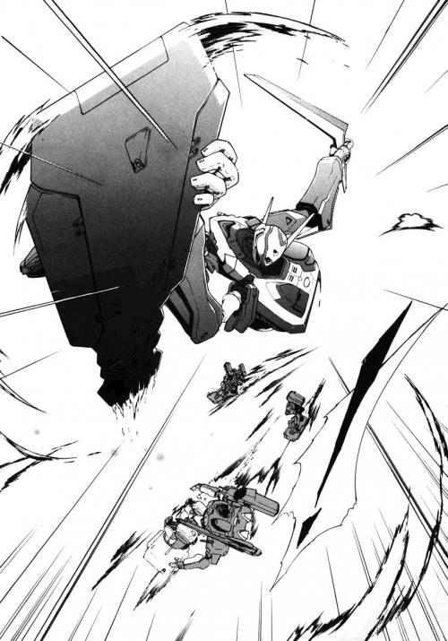 Манга -             Manga - Эврика 7: Псалмы Планет - Koukyou Shihen Eureka Seven (манга)             [2005]
