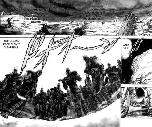 Манга -             Manga - Кулак Северной Звезды - Hokuto No Ken (манга) [1984]