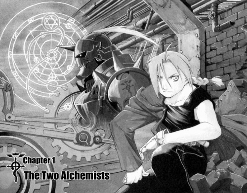 Манга -             Manga - Стальной алхимик - Fullmetal Alchemist (манга) [2002]