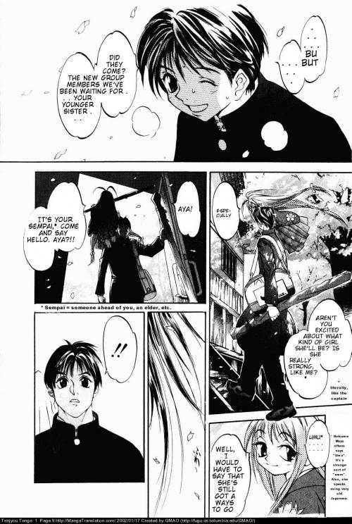 Манга -             Manga - Небо и земля - Tenjou Tenge (манга) [1998]