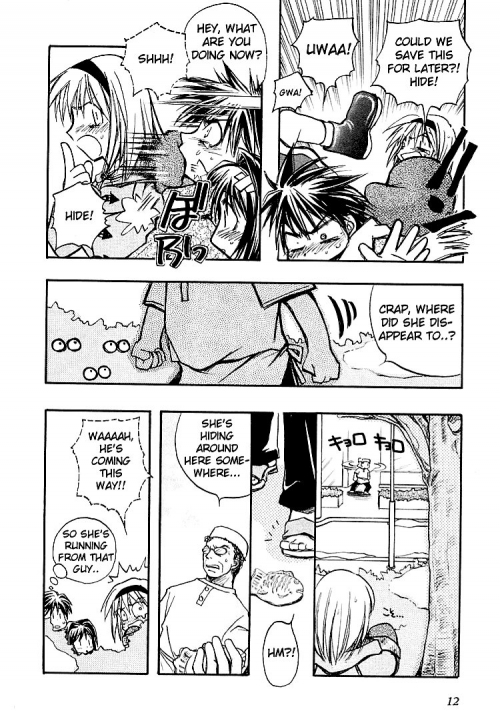 Манга - Manga - Канон - Kanon (Key) (манга) [2000]