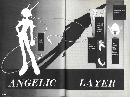 Манга - Manga - Арена Ангелов - Kidou Tenshi Angelic Layer (манга) [1999]