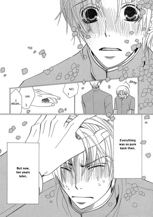 Манга - Manga - Лучшая в мире первая любовь - Sekai-ichi Hatsukoi: Onodera Ritsu no Baai (манга) [2008]