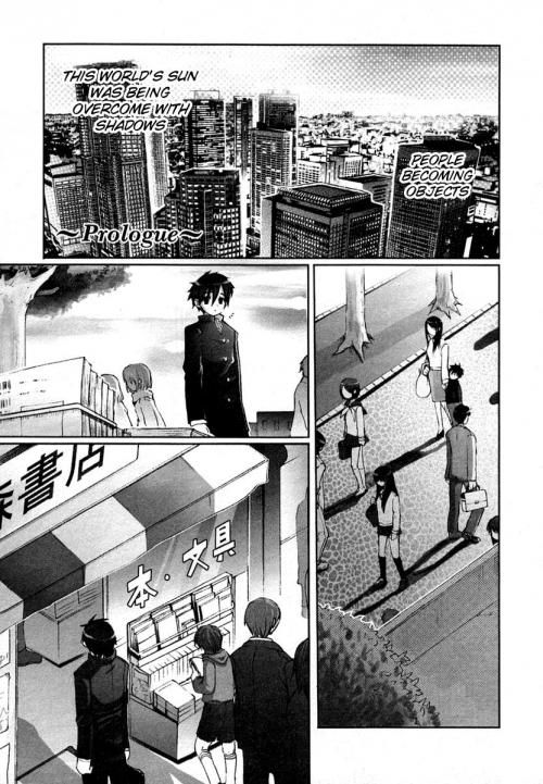 Манга - Manga - Жгучий взор Сяны - Shakugan no Shana (манга) [2005]