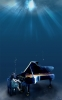 Anime CG Anime Pictures        107281 brown hair dress long piano underwater картинка аниме anime picture
