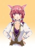 Final Fantasy XIV : Miqote 114234 :3 neko mimi red eyes hair short картинка аниме anime picture