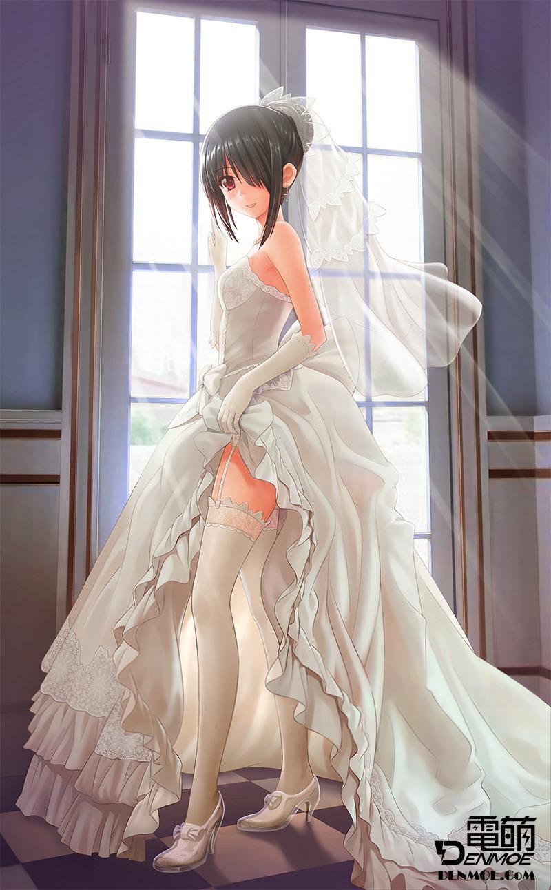 Хентай картинки в свадебном платье 7 фотография