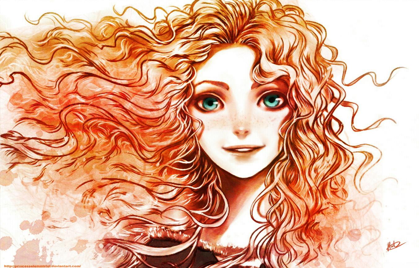 Героини мультфильмов с рыжими волосами