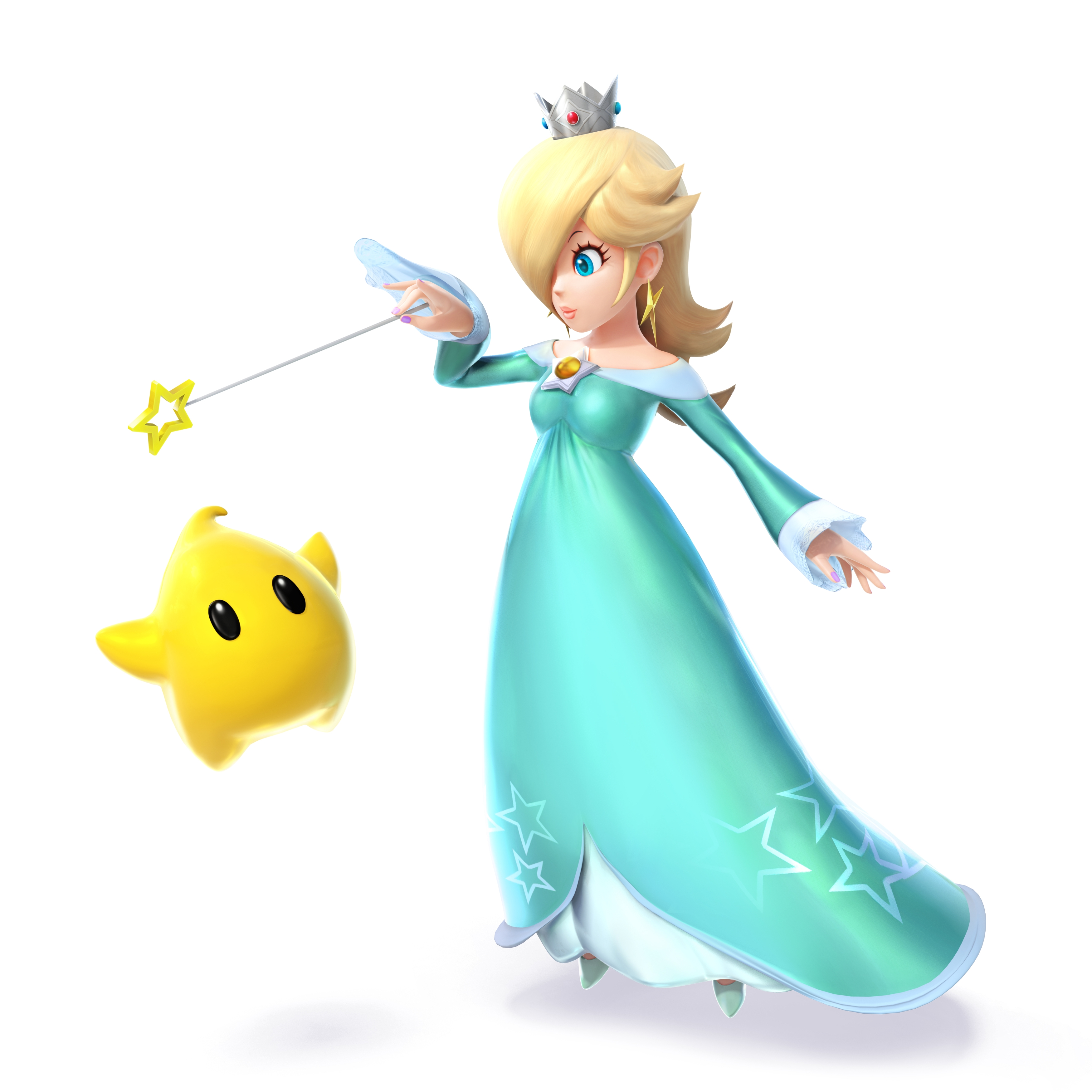 Super smash bros 4 rosalina and luma