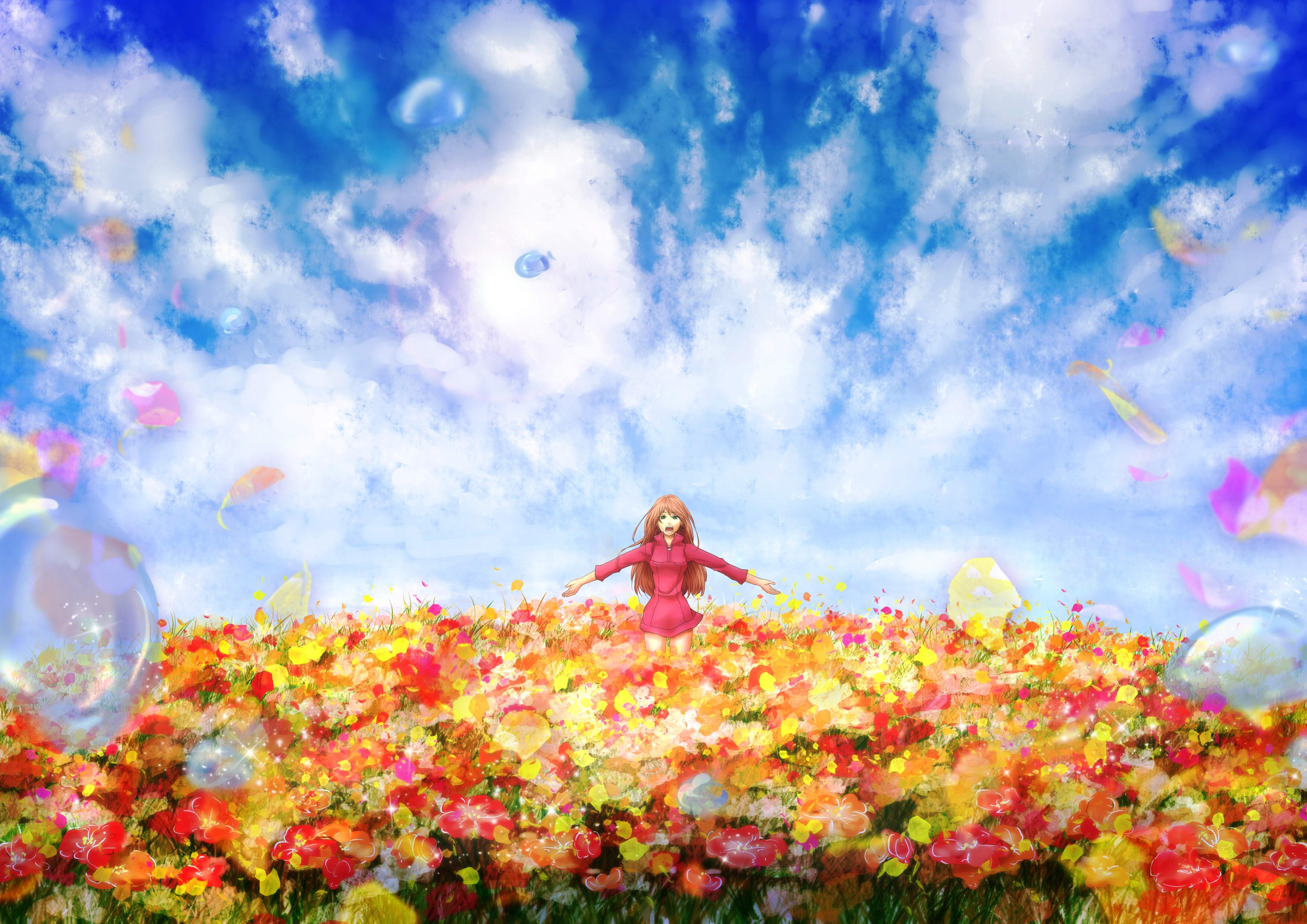 Аниме и всё-таки мир прекрасен / soredemo sekai wa utsukushii