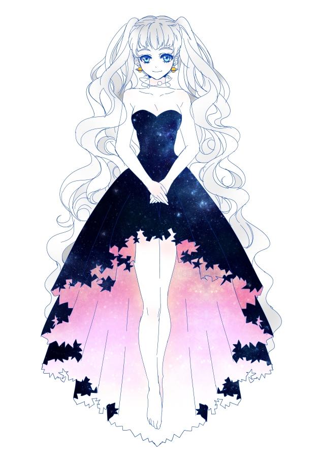 Рисунки для артбука аниме