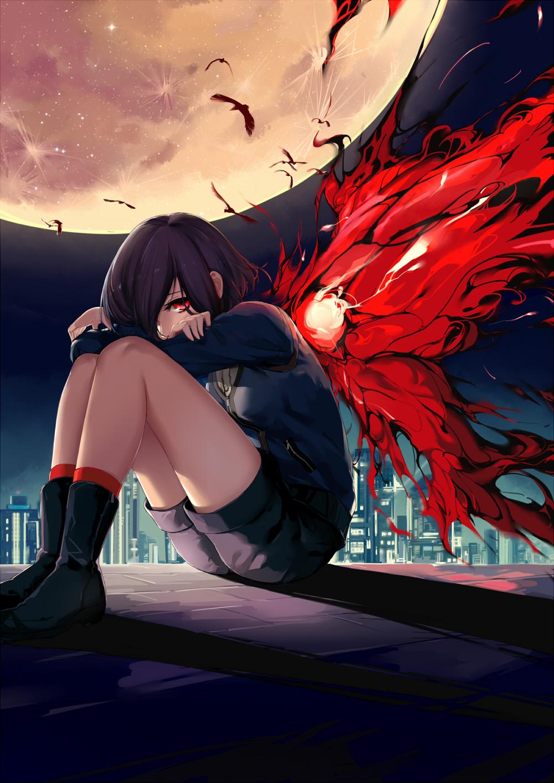 Тень студента аниме 9 фотография
