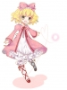 Rozen Maiden : Hinaichigo 182851 blush curly hair dress green eyes happy heart ribbon short картинка аниме anime picture
