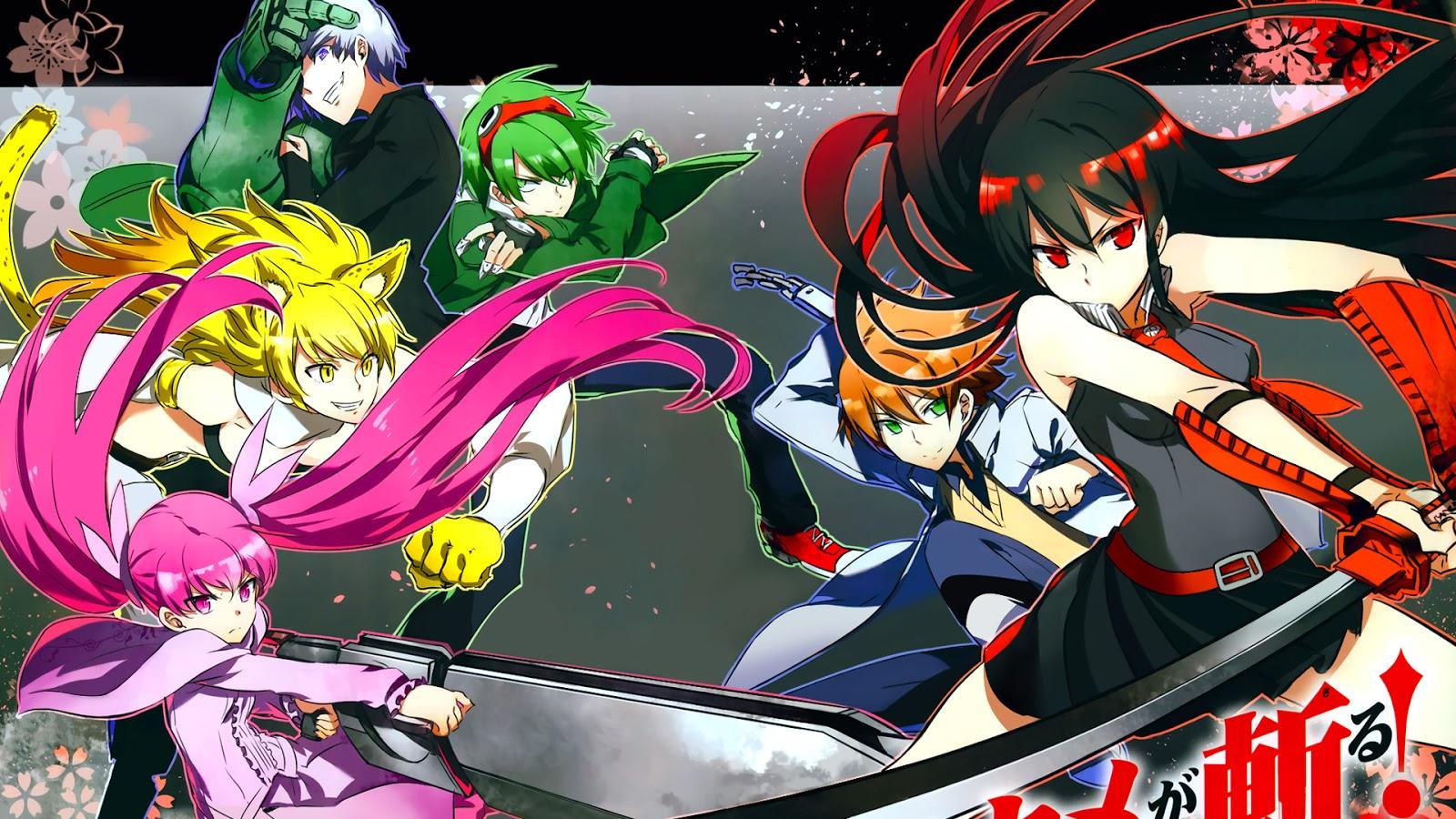 Akame ga Kill! / 2014 / MP4 / TR Altyazılı