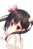Love Live! School Idol Project : Yazawa Nico 183172 black hair blush gloves heart long red eyes ribbon smile twin tails картинка аниме anime picture