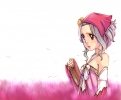 Fairy Tail : Levy McGarden 183350 blue hair book brown eyes headdress ribbon short картинка аниме anime picture