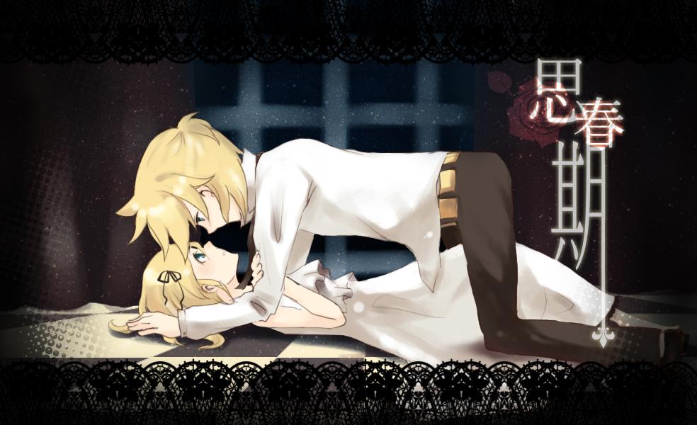 картинки аниме рин и лен: