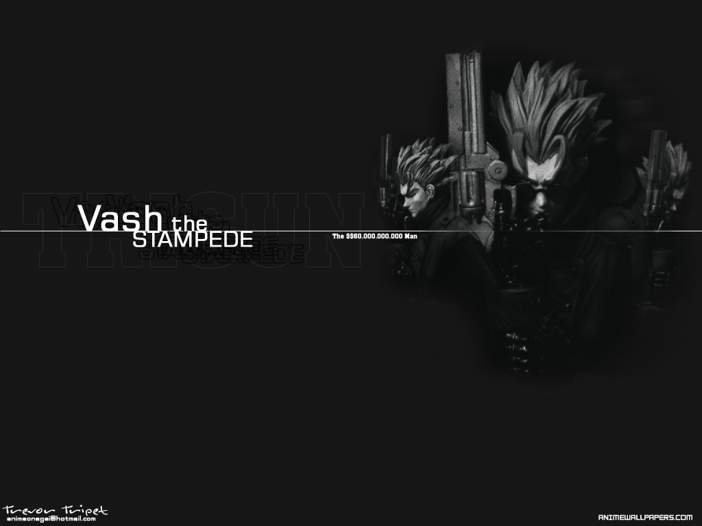trigun, Anime, Wallpapers, фото, картинка, picture, photo, foto