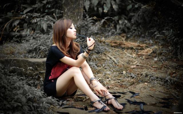 фотографии девушек азиаточек в полный рост