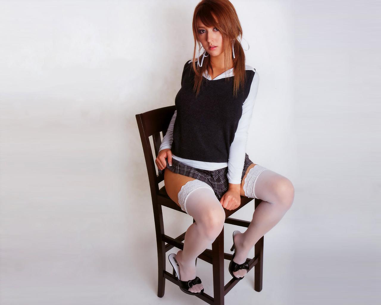 Сексуальные японки в стрингах галерея 20 фотография
