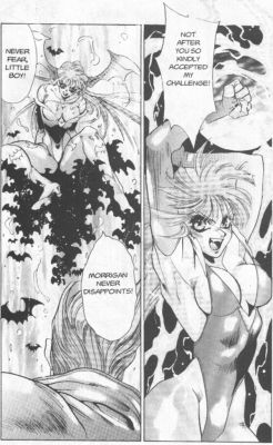 Night Warriors - Darkstalkers Revenge - Ночные воины - месть Дарксталкера - 017 манга , manga , Night Warriors , Darkstalkers Revenge , Ночные воины , месть Дарксталкера