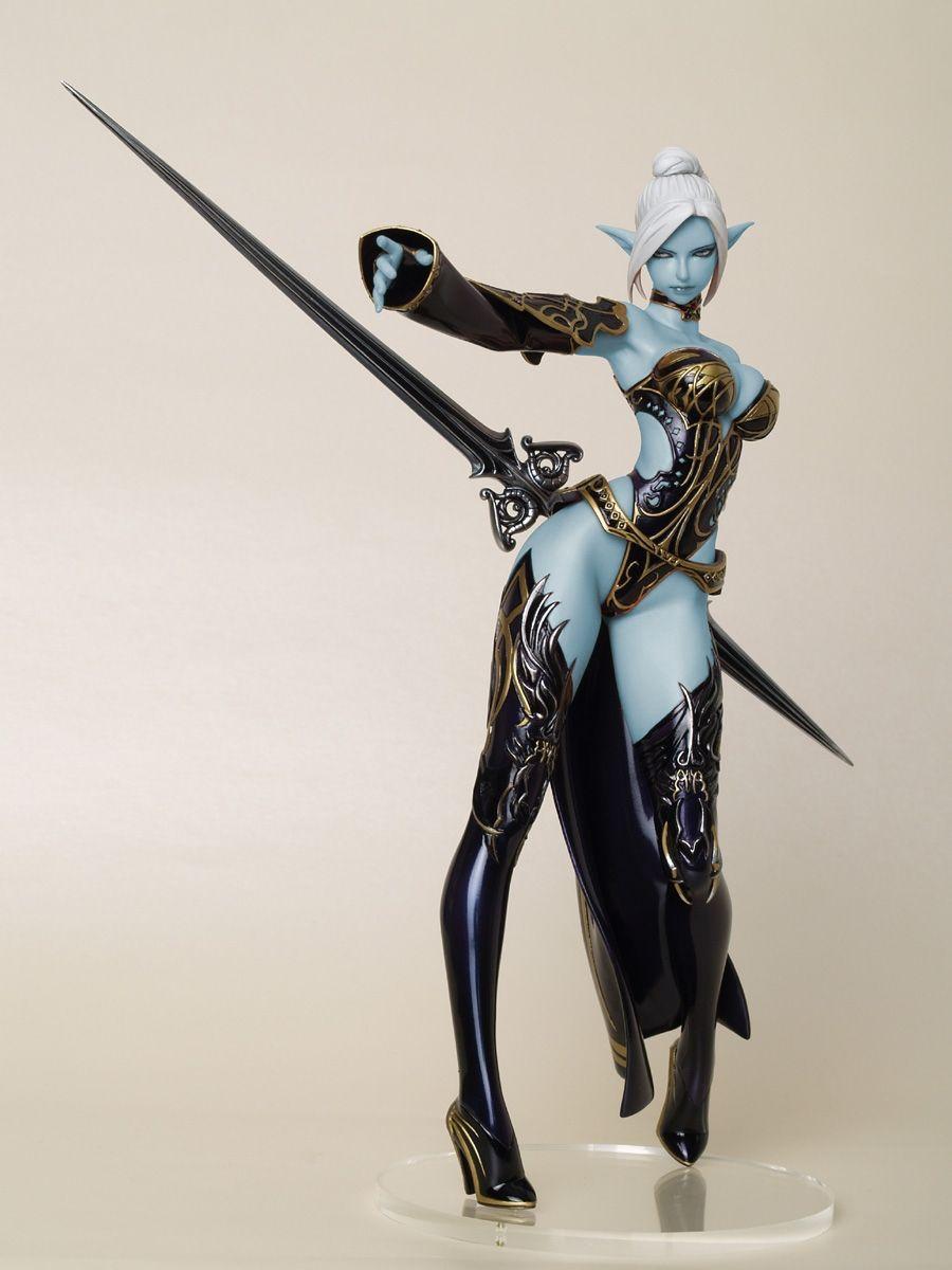 Elf position model adult clips