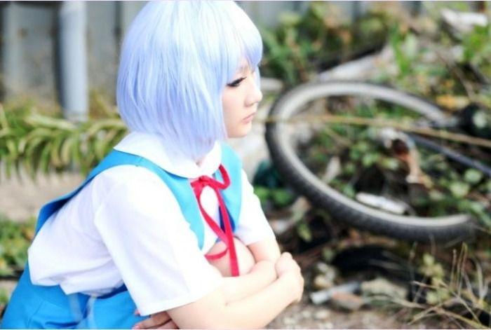 Rei, Ayanami, Koyuki, Neon, Genesis, Evangelion, cosplay