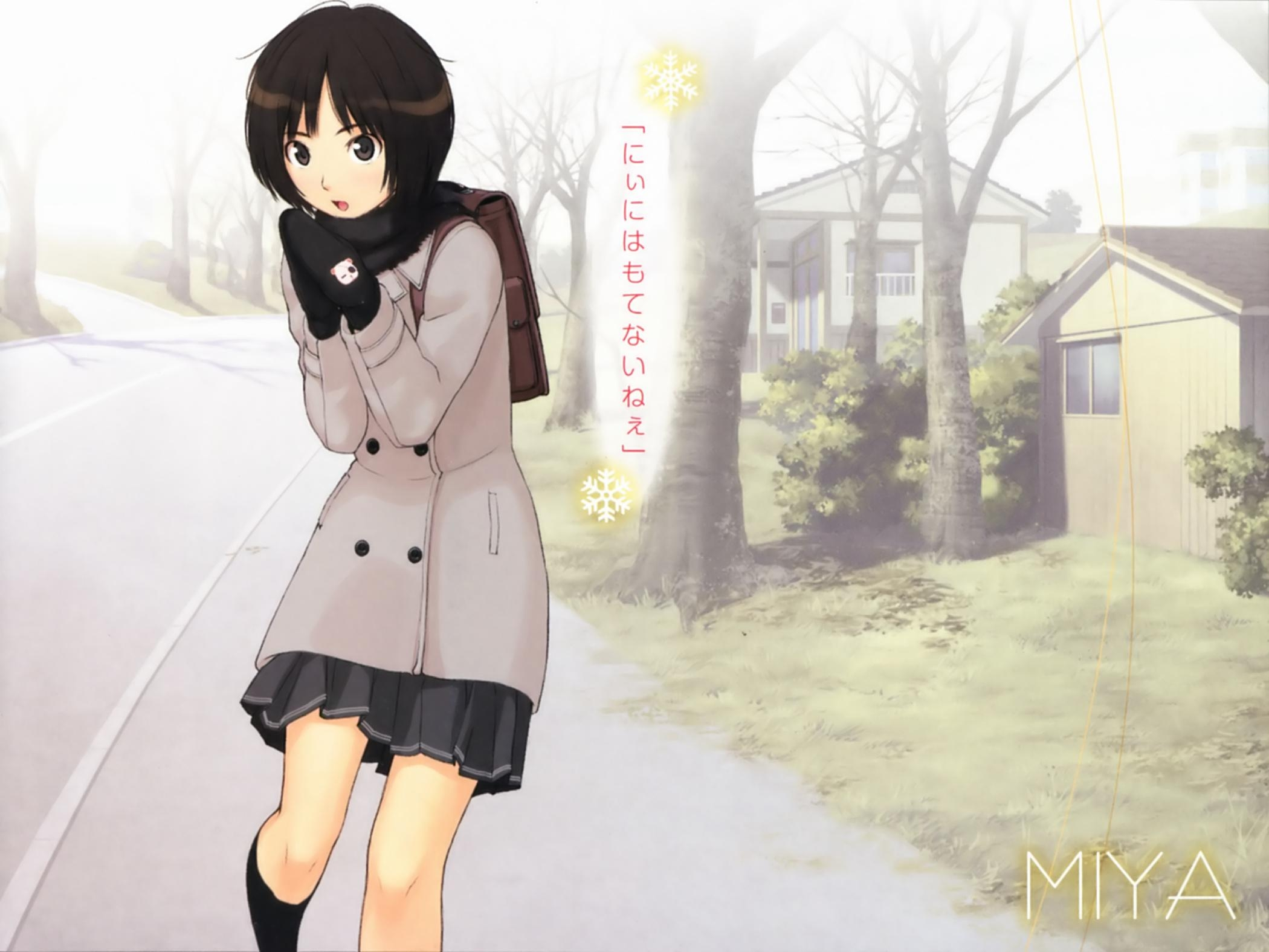 Amagami, SS, Wallpapers, Wallpaper