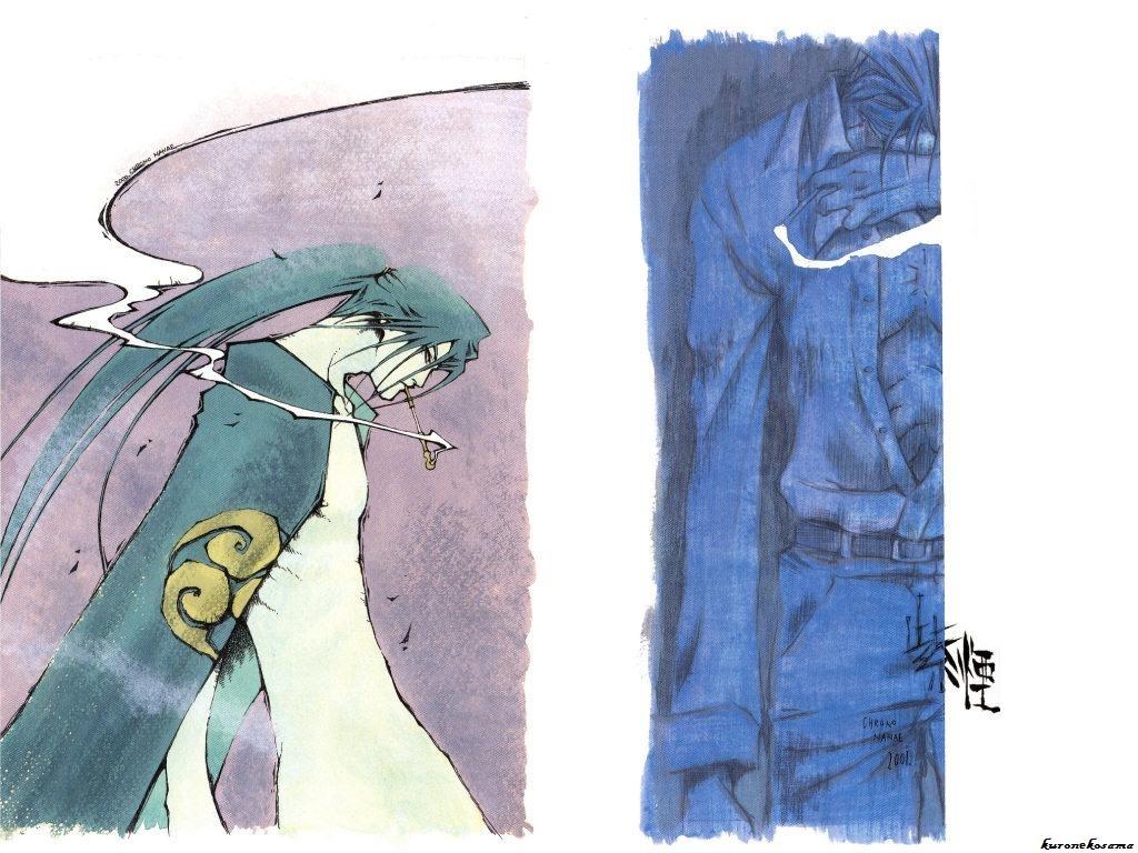 Peace, Maker, Kurogane, Железный, миротворец, Wallpaper