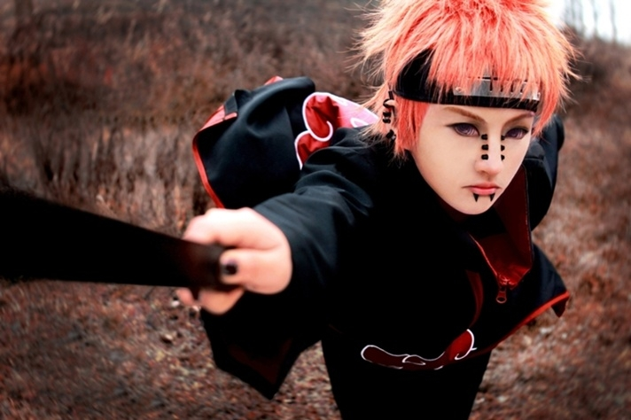 Pain, Lanmeimeia, Naruto, cosplay, picture, foto, Наруто, косплей, картинки, фото