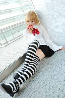 Misa white dress by Kipi 009   Death Note тетрадь смерти cosplay