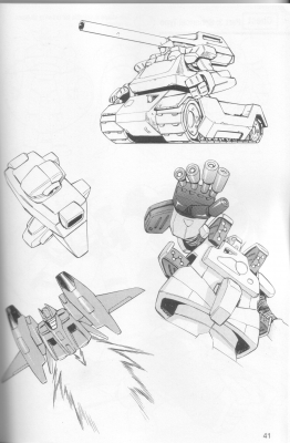 how to draw manga robots