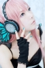 Megurine Luka butterfly by Ibara 006   Megurine Luka Cosplay Vocaloid Вокалоид