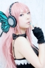 Megurine Luka butterfly by Ibara 004   Megurine Luka Cosplay Vocaloid Вокалоид