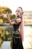 Megurine Luka leather dress by Ibara 008   Megurine Luka Cosplay Vocaloid Вокалоид