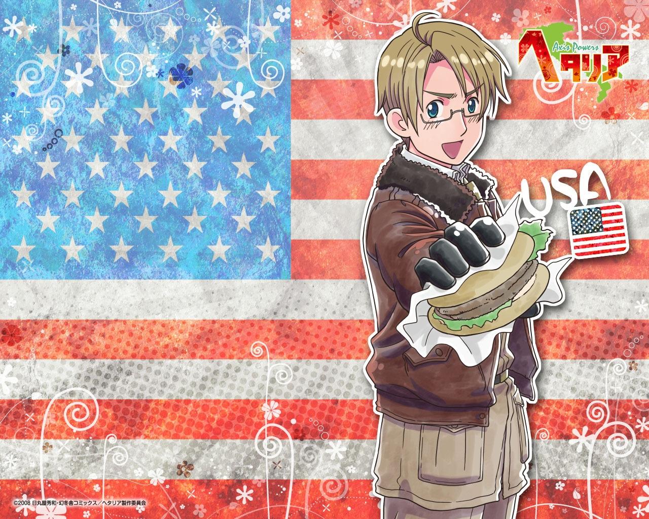 USA, Hetalia, Axis, Powers, Хеталия, и, страны, Оси, аниме, картинки, обои, бесплатные, рабочего, стола, anime, picture, wallpaper, desktop, на, рабочий, для, скачать