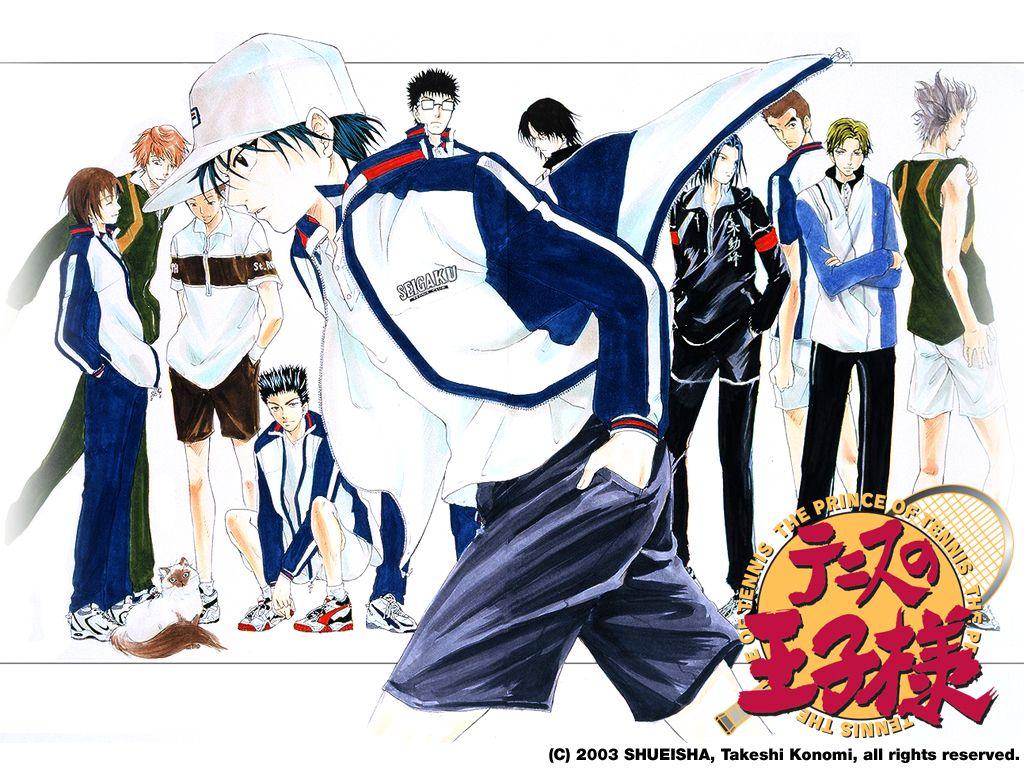 Prince, Tennis5, Tennis, аниме