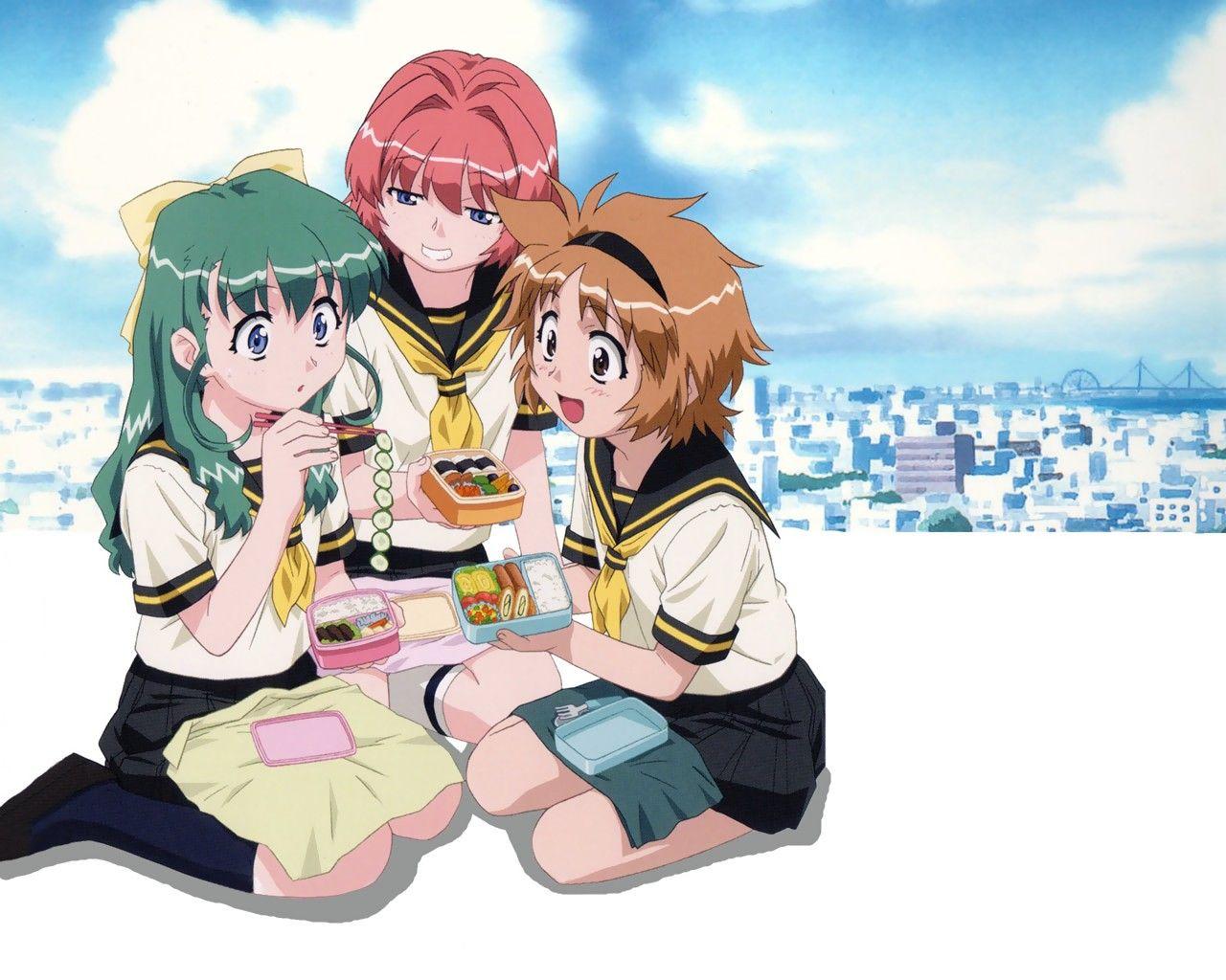 Please, Twins11, Twins, аниме