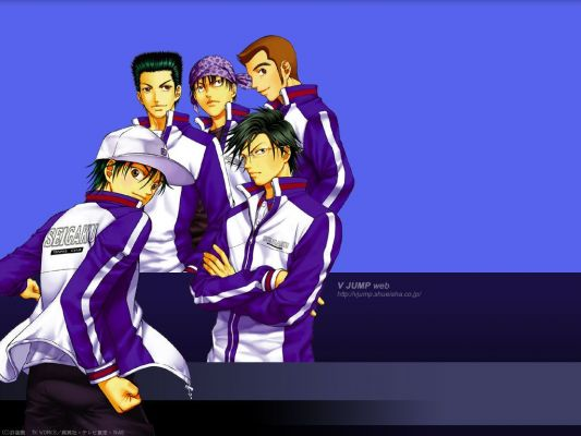 Prince of Tennis7 Prince of Tennis аниме