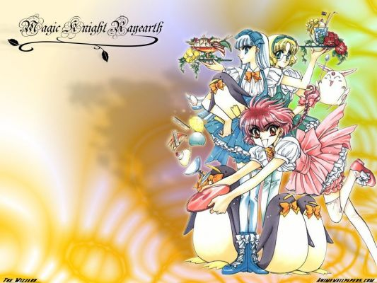 Magic Knight Rayearth5 Magic Knight Rayearth аниме