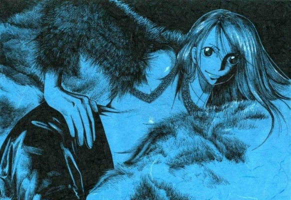 Nami in Furs/In Blue